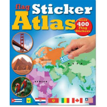 Flag Sticker Atlas by Chez Picthall, 9781907604515