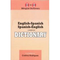 English-Spanish & Spanish-English One-to-One Dictionary by C. Rodriguez, 9781908357458