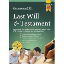 Last Will & Testament Kit by Eason Rajah, 9781909104082