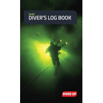 Solid Diver's Log Book: Water-Resistant Hardcover 70-Dive Log Book by Dived Up Publications, 9781909455061