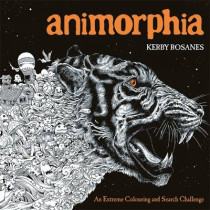 Animorphia: An Extreme Colouring and Search Challenge by Kerby Rosanes, 9781910552070