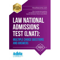 Law National Admissions Test (LNAT): Multiple Choice Questions and Answers by How2Become, 9781910602805