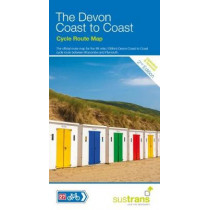 The Devon Coast to Coast: The 90 Mile Cycle Route Between Ilfracombe and Plymouth by Sustrans, 9781910845332