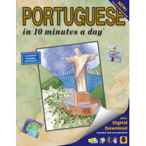 10 minutes a day: Portuguese Book with digital download by Kristine K. Kershul, 9781931873338