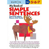 My Book of Simple Sentences: Nouns and Verbs by Publishing Kumon, 9781933241050