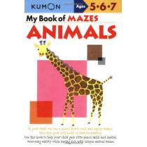 My Book Of Mazes: Animals by Publishing Kumon, 9781933241258