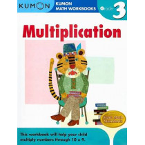 Grade 3 Multiplication by Publishing Kumon, 9781933241548
