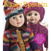 Nicky Epstein Knits for Dolls: 25 Fun, Fabulous Outfits for 18-Inch Dolls by Nicky Epstein, 9781936096541