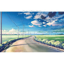 A Sky Longing For Memories: The Art of Makoto Shinkai by Makoto Shinkai, 9781941220436