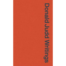 Donald Judd Writings by Flavin Judd, 9781941701355