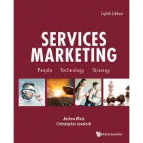 Services Marketing: People, Technology, Strategy (Eighth Edition) by Jochen Wirtz, 9781944659011