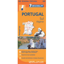Portugal Sud - Algrave - Michelin Regional Map 593: Map, 9782067184770