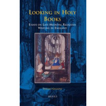 Looking in Holy Books: Essays on Late Medieval Religious Writing in England by Associate Professor Vincent Gillespie, 9782503536873