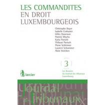 Les Commandites en Droit Luxembourgeois by Laurent Schummer, 9782804460952