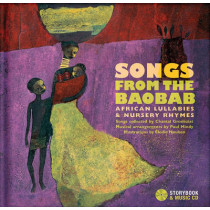 Songs from the Baobab: African Lullabies & Nursery Rhymes by Chantal Grosleziat, 9782923163796