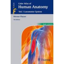 Color Atlas of Human Anatomy: Vol 1. Locomotor System by Werner Platzer, 9783135333076