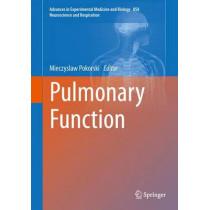 Pulmonary Function by Mieczyslaw Pokorski, 9783319187891