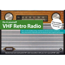 Do It Yourself FM Retro Radio Kit & Manual by Franzis Verlag GmBH, 9783645652285