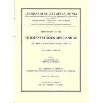 Commentationes Mechanicae et Astronomicae AD Physicam Cosmicam Pertinentes by Leonhard Euler, 9783764314590