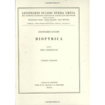 Dioptrica 2nd part by Leonhard Euler, 9783764314637