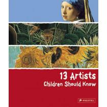 13 Artists Children Should Know by Angela Wenzel, 9783791341736