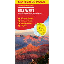 USA West Marco Polo Map by Marco Polo, 9783829767385