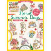 Cross Stitch: Floral Summer Days: Lovely Happy Charts by Durene Jones, 9786059192217