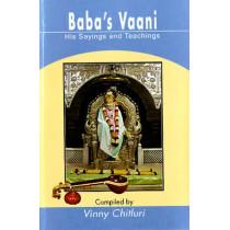 Baba's Vaani: His Sayings and Teachings by Vinny Chitluri, 9788120738591
