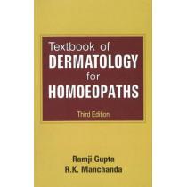 Textbook of Dermatology for Homoeopaths by Ramji Gupta, 9788131903414
