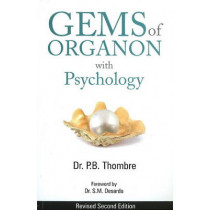 Gems of Organon with Psychology by P.B. Thombre, 9788131905432