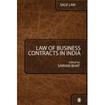 Law of Business Contracts in India by Sairam Bhat, 9788132102236