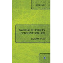 Natural Resources Conservation Law by Sairam Bhat, 9788132105084