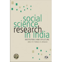 Social Science Research in India: Institutions and Structure by R. S. Deshpande, 9788171888443