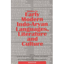 Studies in Early Modern Indo-Aryan Languages, Literature and Culture by Alan W. Entwistle, 9788173042690