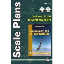 Scale Plans Lockheed Starfighter F-104 by Dariusz Karnas, 9788363678722