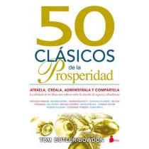 50 Clasicos de La Prosperidad by Tom Butler-Bowdon, 9788416579129