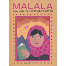 Malala, a Brave Girl from Pakistan/Iqbal, a Brave Boy from Pakistan by Jeanette Winter, 9788426141866