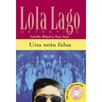 Lola Lago, detective: Una nota falsa + CD (A2) by Lourdes Miquel, 9788484431299