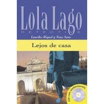 Lola Lago, detective: Lejos de casa + CD (A2+) by Lourdes Miquel, 9788484431336