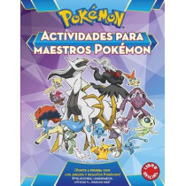 Actividades Para Maestros Pokemon / Pokemon All-Star Activity Book by Varios Autores, 9788490437988