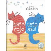 Gato Rojo, Gato Azul by Jenni Desmond, 9788494113659