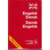 English-Danish and Danish-English Dictionary by Gyldendal, 9788702013610