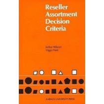 Reseller Assortment Decision Criteria by Viggo Host, 9788772880792