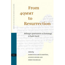 From 4QMMT to Resurrection: Melanges qumraniens en hommage a Emile Puech by Florentino Garcia Martinez, 9789004152526