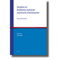 Studies in Rabbinic Judaism and Early Christianity: Text and Context by Dan Jaffe, 9789004184107