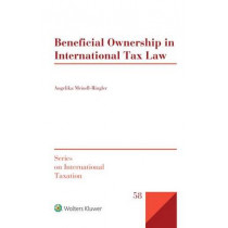 Beneficial Ownership in International Tax Law by Angelika Meindl-Ringler, 9789041168337