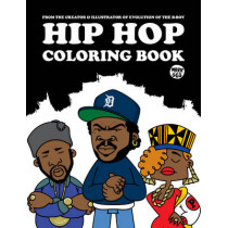Hip Hop Coloring Book by Mark 563, 9789185639830