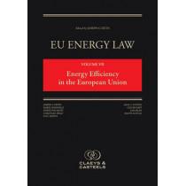 EU Energy Law, Volume VII: Energy Efficiency in the European Union by Joseph Curtin, 9789491673054