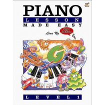 Piano Lessons Made Easy Level 1 by Lina Ng, 9789679853612