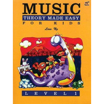 Music Theory Made Easy for Kids, Level 1 by Lina Ng, 9789679856033